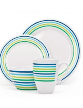 MELAMINE SET SEABREEZE, 16 PIECE