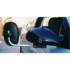 TOWING MIRROR SUCTION FITTING, FLAT GLASS CAMEC