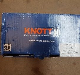 Knott Brake Shoe Set KB1 (203×40)