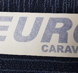 Euro Caravans Branded Stickers – Euro Caravans / Hobby / Glider