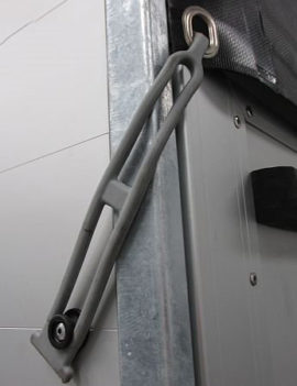 Rubber band for Trailer rear curtain