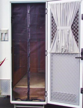 Magnetic Fly Screen Door for Caravan