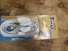 COAX LEAD M-M 4.5M WITH M TO F ADAPTOR (HOME STYLE LEAD)