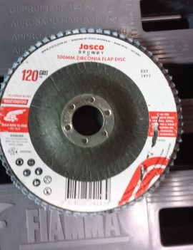 Josco 100mm Zirconia Flap Disc