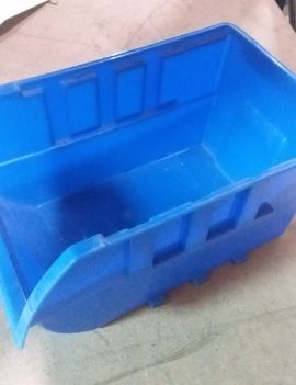 Blue Plastic Storage Tray