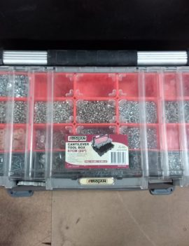 Cantilever Tool Box with Nuts/Screws/Bolts