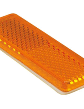 Amber Reflectors 22×85 mm Stick-On