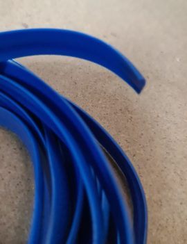 Flexible Trim Moulding – Blue (Per Metre)
