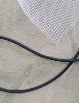 Mesh Fly Protector and Rubber Seal